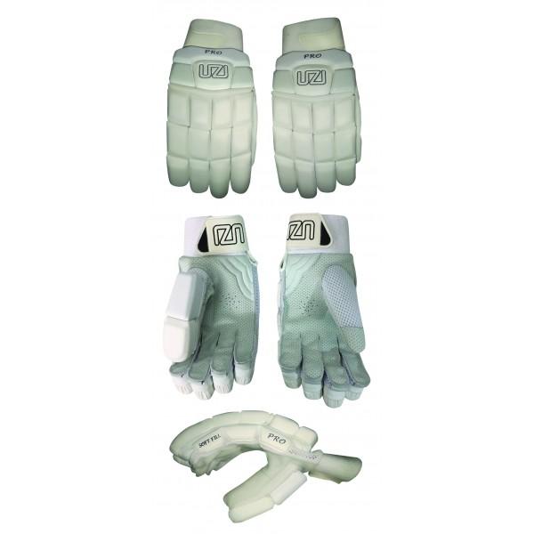 UZI Pro Junior Batting Gloves 2021