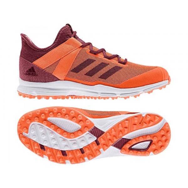 Adidas Zone Dox 1.9S Hockey Shoes - Orange (2019/20)