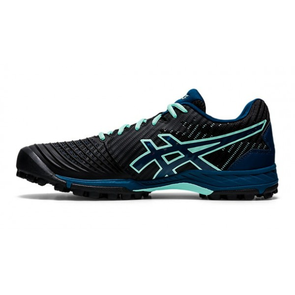 Asics Field Ultimate FF Women Hockey Shoes - Black/Mako Blue (2020/21)