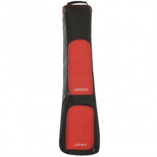 Grays GS3000 Hockey Kit Bag Black/Red
