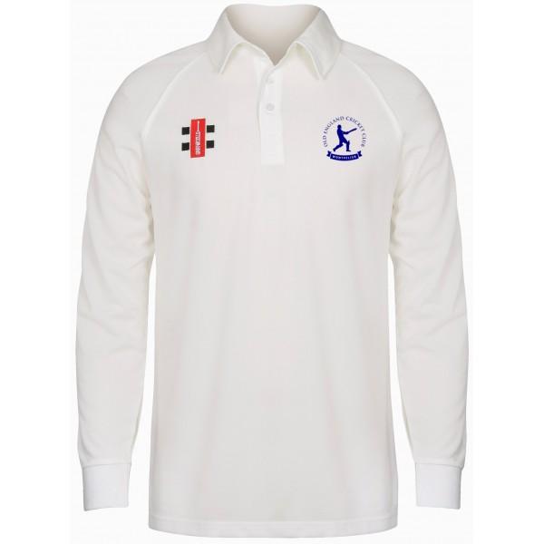 Old England Club Senior Long Sleeve Playing Shirt - Matrix Quality