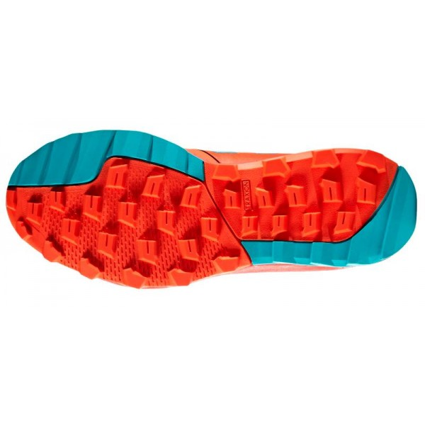 Adidas FlexCloud Hockey Shoes - Red/Aqua